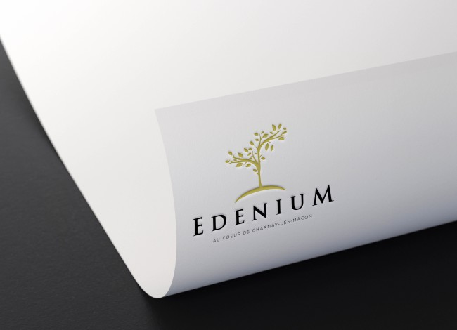 5K Metallic Foil Logo Mockup by Anthony Boyd Graphics